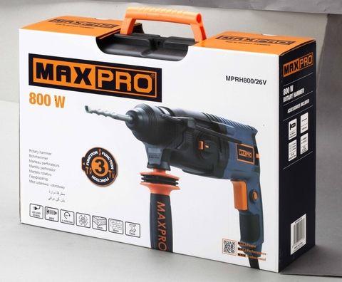 Перфоратор монтажный MAX PRO 800W  MPRH 80026V