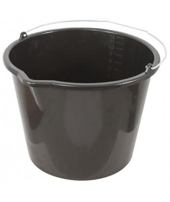 ведро пластиковое для перемешивания раствора с носиком,20л