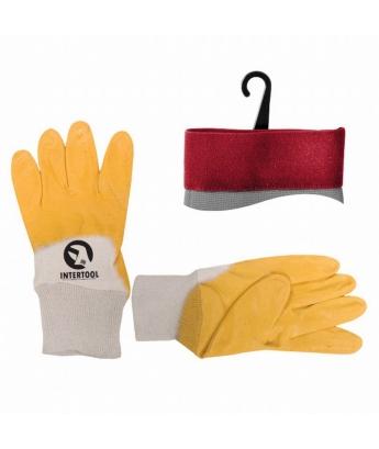Перчатки желтые
