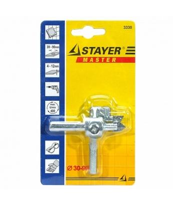 Сверло круговое по кафелю Stayer 30-90mm