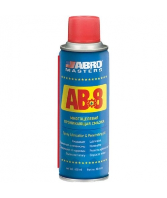 Многоцелевая проникающая смазка ABRO masters 450 мл