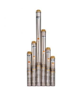 Электронасос скважинный многоступенчатый 100QJD210-0,75 +пульт, SPRUT