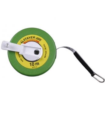 Рулетка мерная лента  фиберглассовая STAYER 10м
