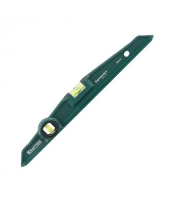 Уровень литой KraftMax особопрочный,2 ампулы, точность 0,5мм/м, Kraftool 40 см