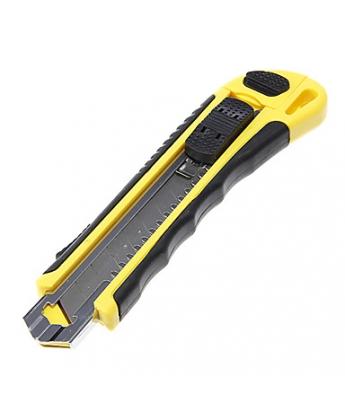 Нож канцелярский с 3 запасками Kebo