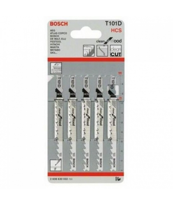 Пилки на лобзик HSS BOSCH  T101D