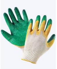 Перчатки зеленные