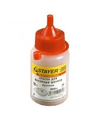 Краска для малярных шнуров 50г красная Stayer