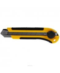 Нож технический 25 мм усиленный с вращ.прижимом