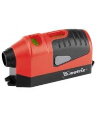 Уровень лазерный отвес, маркер,650Нм, до 16 ч работы //MATRIX