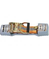 Ремень багажный с крюками, 0,38х5м храповой механизм STELS