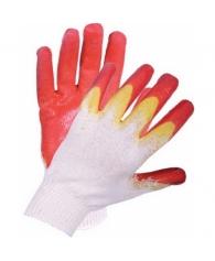 Перчатки оранджевые