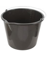 Ведро пластиковое для перемешивания раствора с носиком, 12л