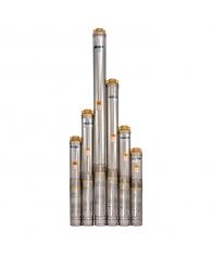Электронасос скважинный многоступенчатый 100QJD208-0,55 +пульт ,SPRUT
