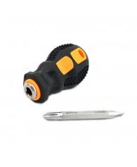 Отвертка  2-хпозиционная с 2-компонентной ручкой 6*38 мм
