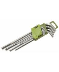 Набор ключей шестигранных  9 шт.(1.5,2,2.5,3,4.5,6,8,10 мм)