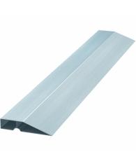 Правило алюминивое Трапеция, 1 ребро жесткости, L-1,0 м